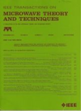 IEEE Transactions on Microwave Theory and Techniques