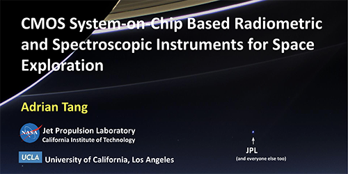 CMOS System on Chip Based Radiometric and Spectroscopic Instruments for Space Exploration