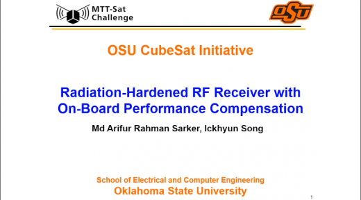 Radiation-Hardened RF Receiver with On-Board Performance Comparison (School of Electrical and Computer Engineering, Oklahoma State University)